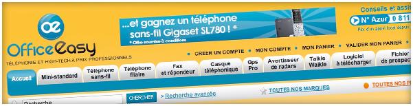 OfficeEasy.fr : Téléphonie et High-Tech à prix Professionnels