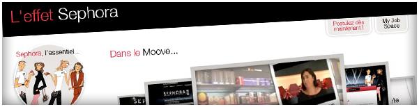 Création Agence Dn'D - Site RH Sephora