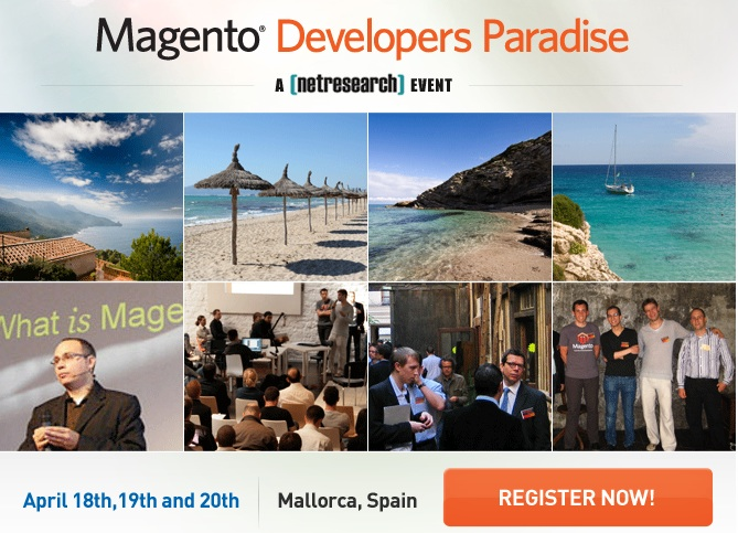 Magento Developer Paradise - April 17-20, Mallorca, Spain