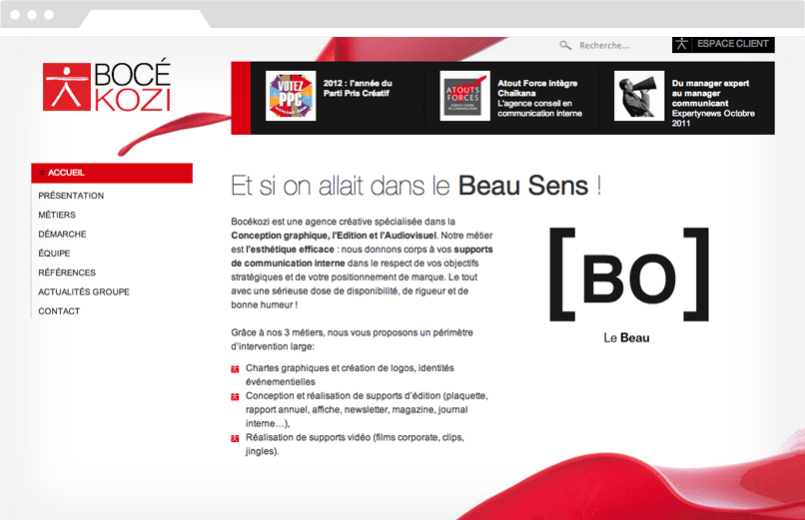 Agence-DND-Creation-Site-Corporate-Boce-Kozi