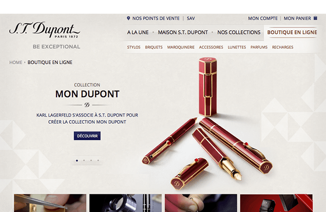 Agence-DND-Creation-Feature-Site-ECommerce-ST-Dupont