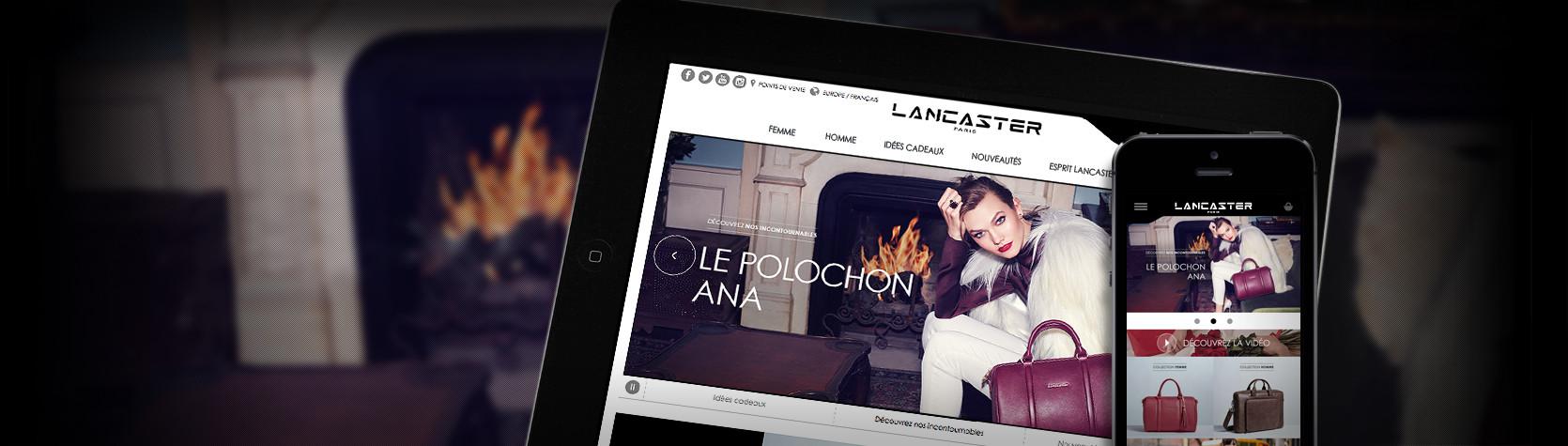 Création Site E-Commerce Magento Lancaster Paris par l'Agence Dn'D