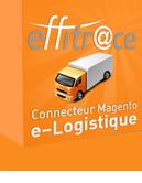 Logistique e-Commerce-extension Magento pour le logiciel Effitrace