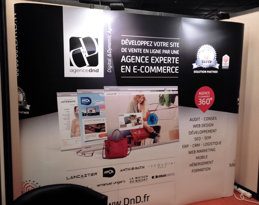 Stand Agence Dn'D expert magento Bargento 2012