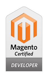 Logo Magento Certified Developer
