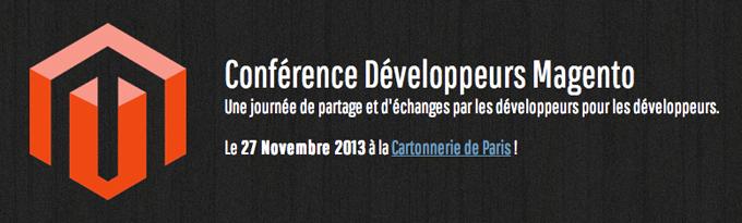 Conférences Développeurs Magento Paris