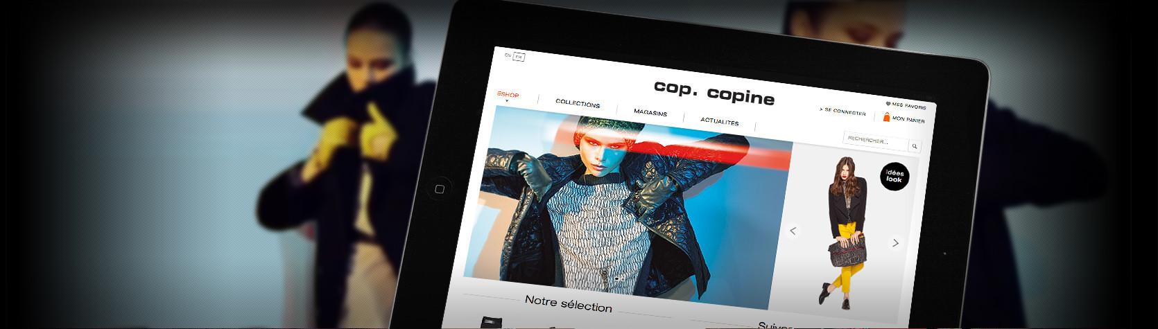 Création du site E-Commerce Cop Copine sous Magento par l'Agence Dn'D
