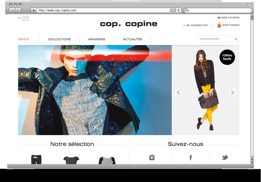 Création DND Site E-Commerce Cop. Copine