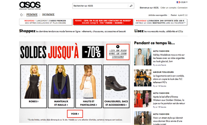Site E-Commerce ASOS
