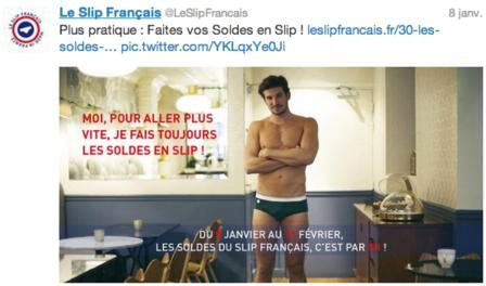Tweet Soldes Le Slip Français