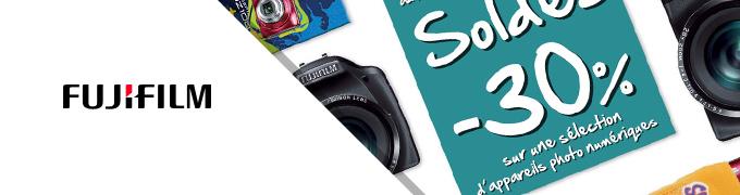 Soldes site E-Commerce Fujifilm