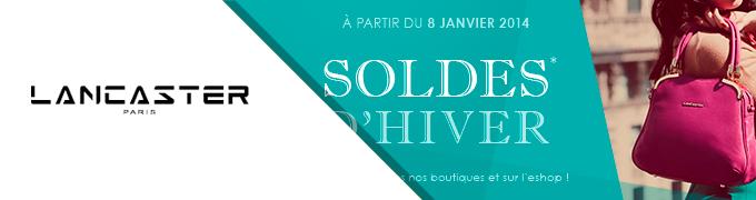 Soldes site E-Commerce Lancaster Paris