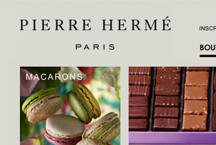 Reprise, Optimisation et Migration site E-Commerce Pierre Hermé Paris