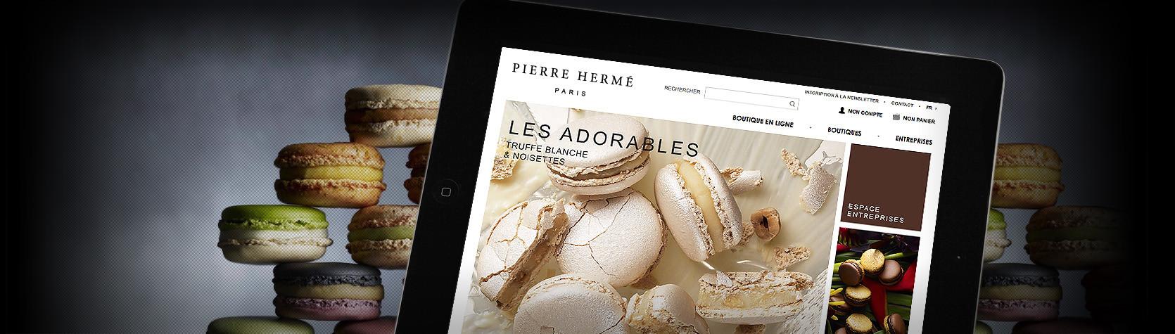Agence Dn'D - Création Site E-Commerce Magento Pierre Hermé Paris