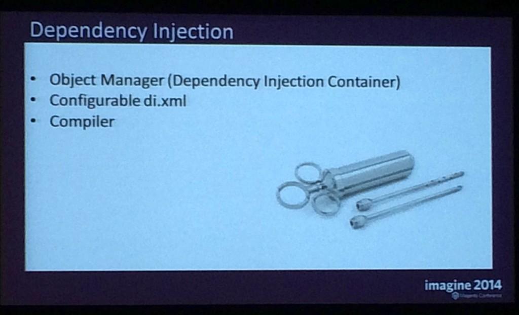dependency injection magento2 magentoimagine-2014