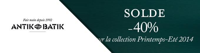 Soldes site E-Commerce Antik Batik