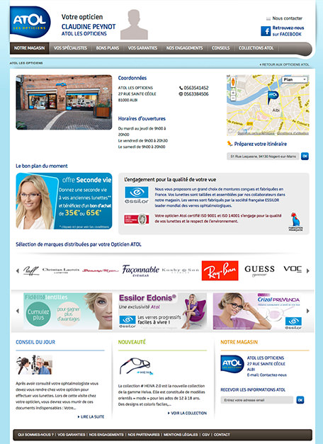 Agence-DND-Creation-Site-ECommerce-Atol-les-Opticiens