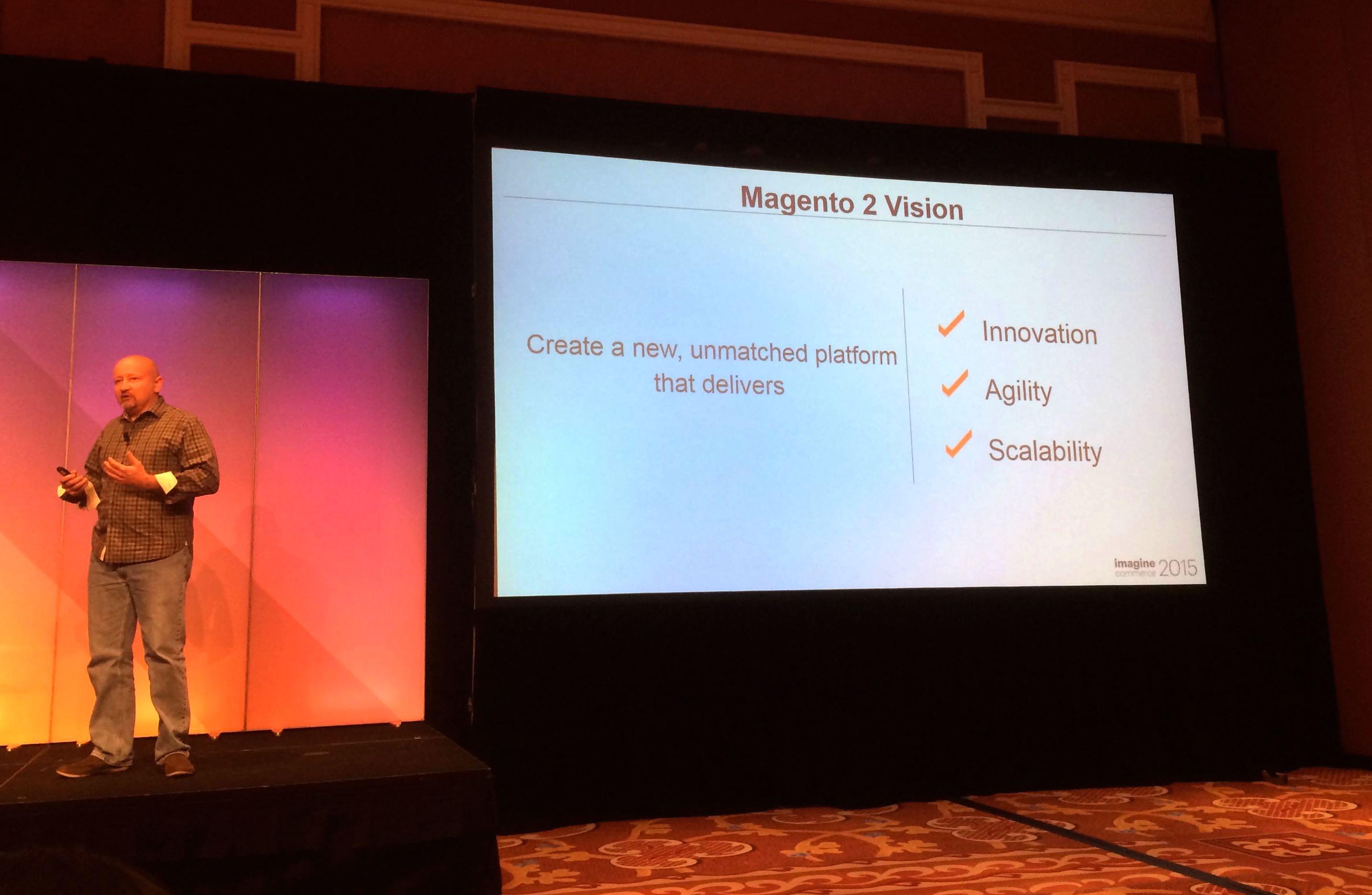 Magento2 : 3 axes majeurs : l'Agilité, l'Innovation et la Scabilité