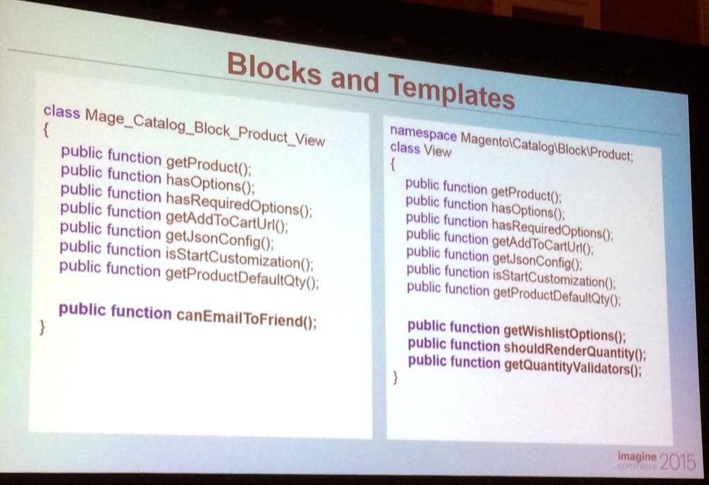 Magento 2 : Blocks et templates