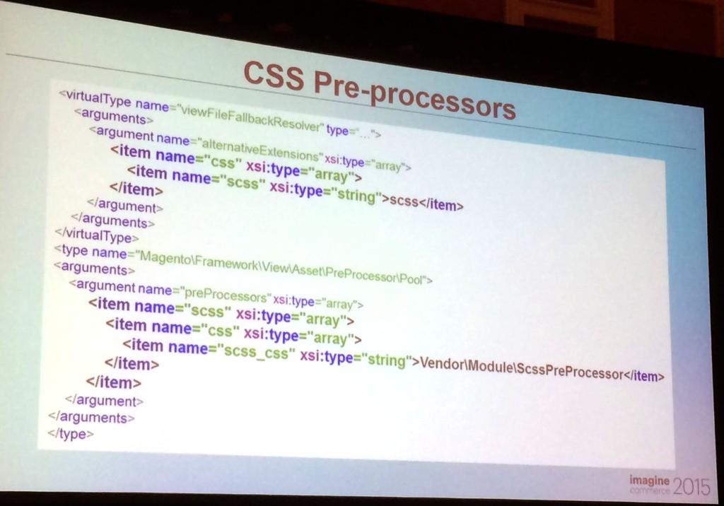 Magento2 : Pre-Processors CSS et SCSS