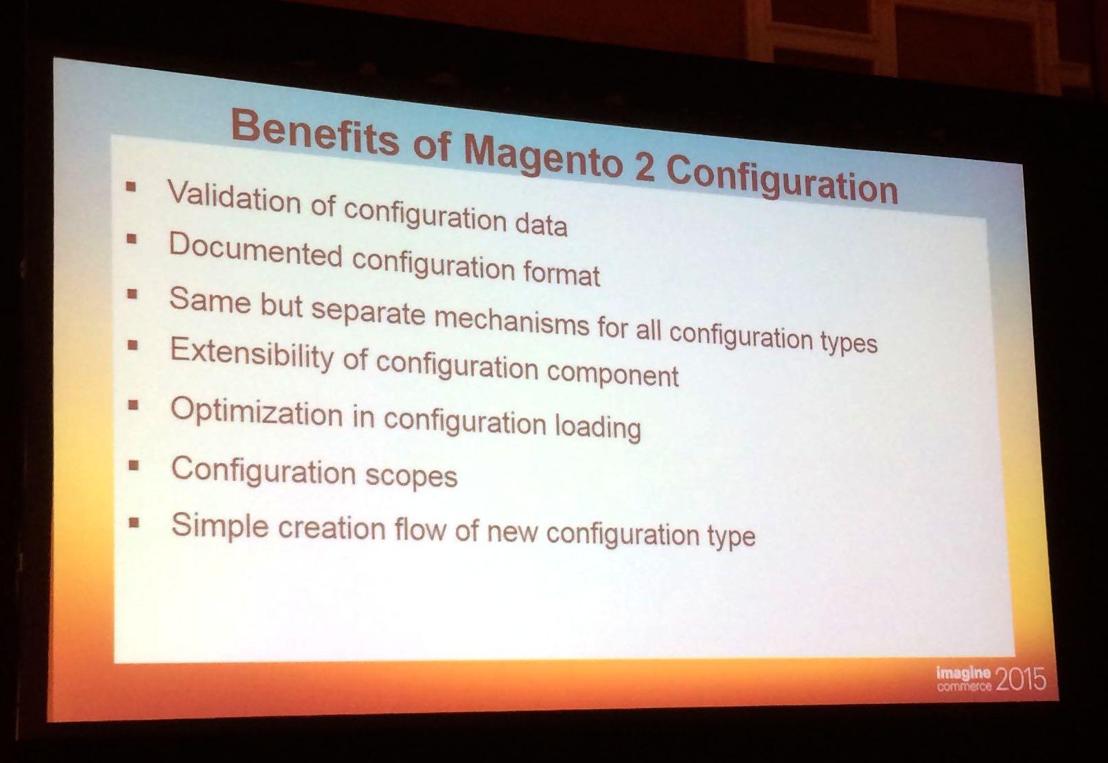 Magento 2 : la configuration sera plus rapide, mieux formatée et donc plus simple à maintenir