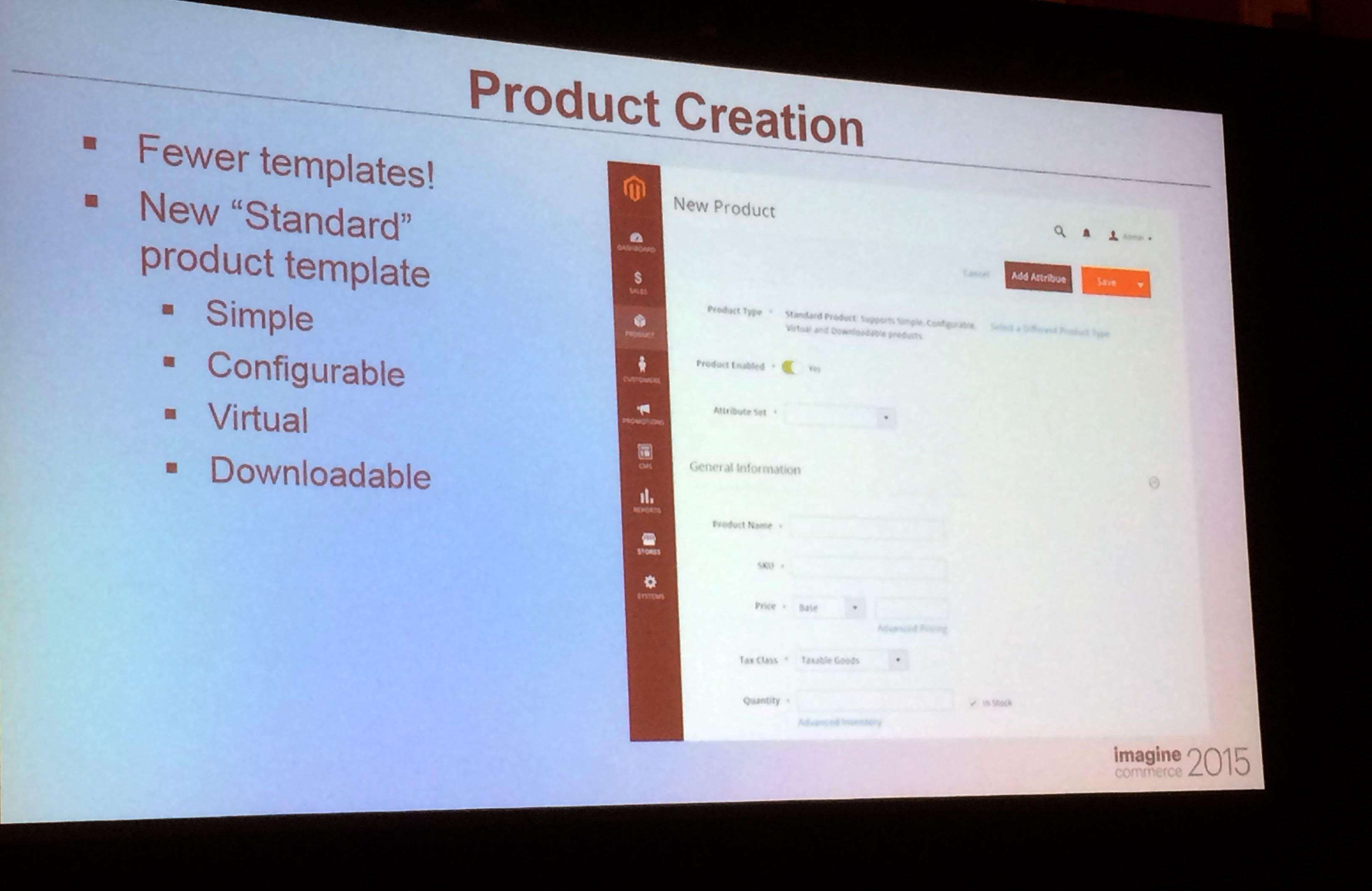 Magento2 : nouveau process de création d'une fiche produit