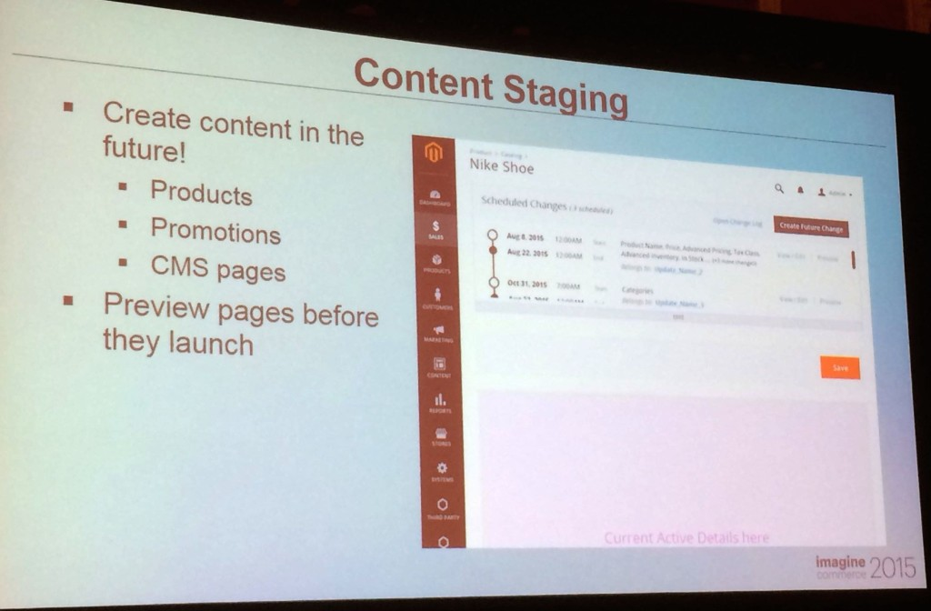 Magento2 : nouveau système de staging et versionning pour les produits et les promotions
