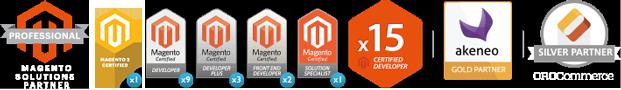 15 Développeurs certifiés Magento