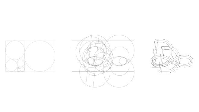 étape élaboration nouveau logo Agence Dn'D