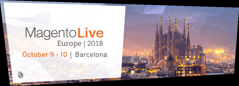 MagentoLive Europe 2018 - Agence Dn'D Gold Sponsor