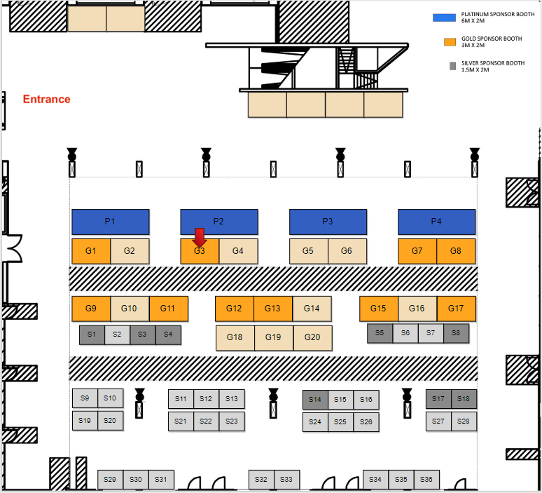 Plan stand Agence Dn'D à MagentoLive Europe 2018