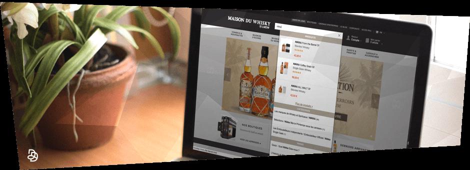 search interne site e-commerce avec algolia