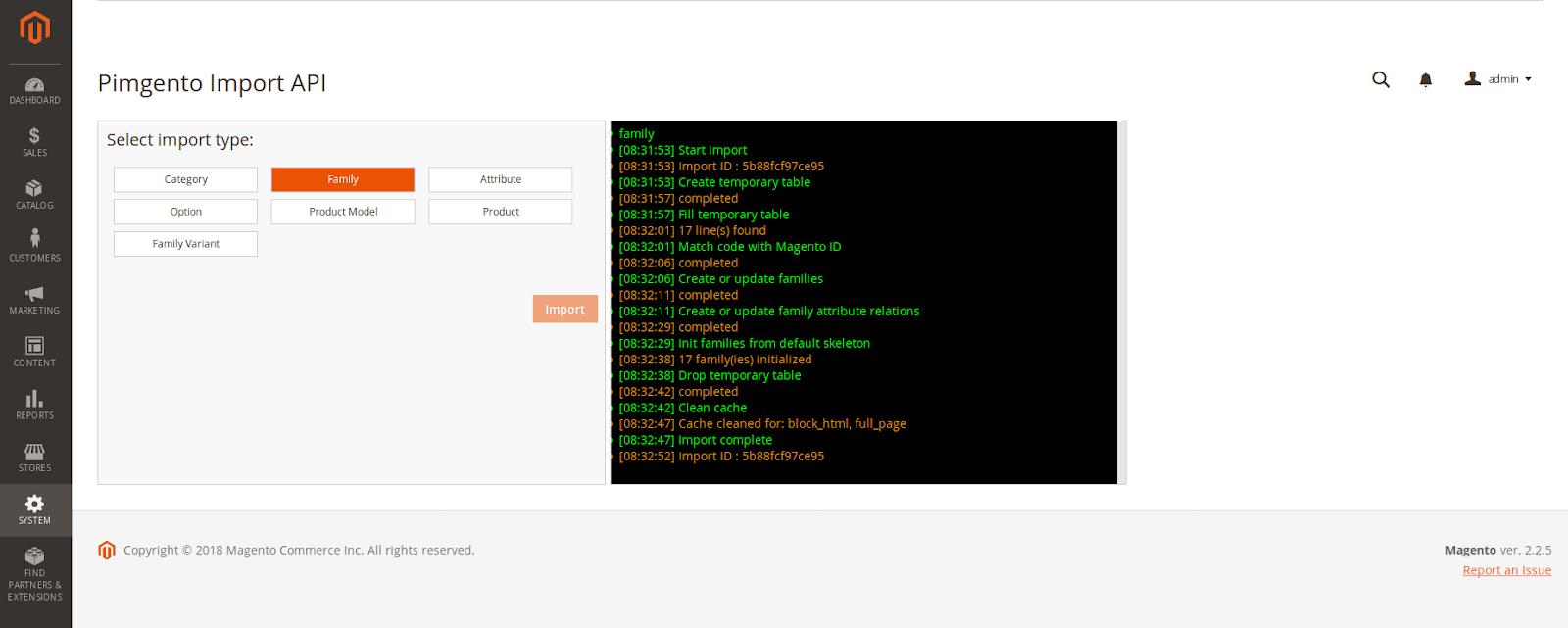 démonstration PIMGento2 API connecteur Akeneo/Magento