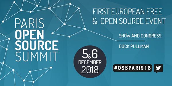 événement paris open source 2018