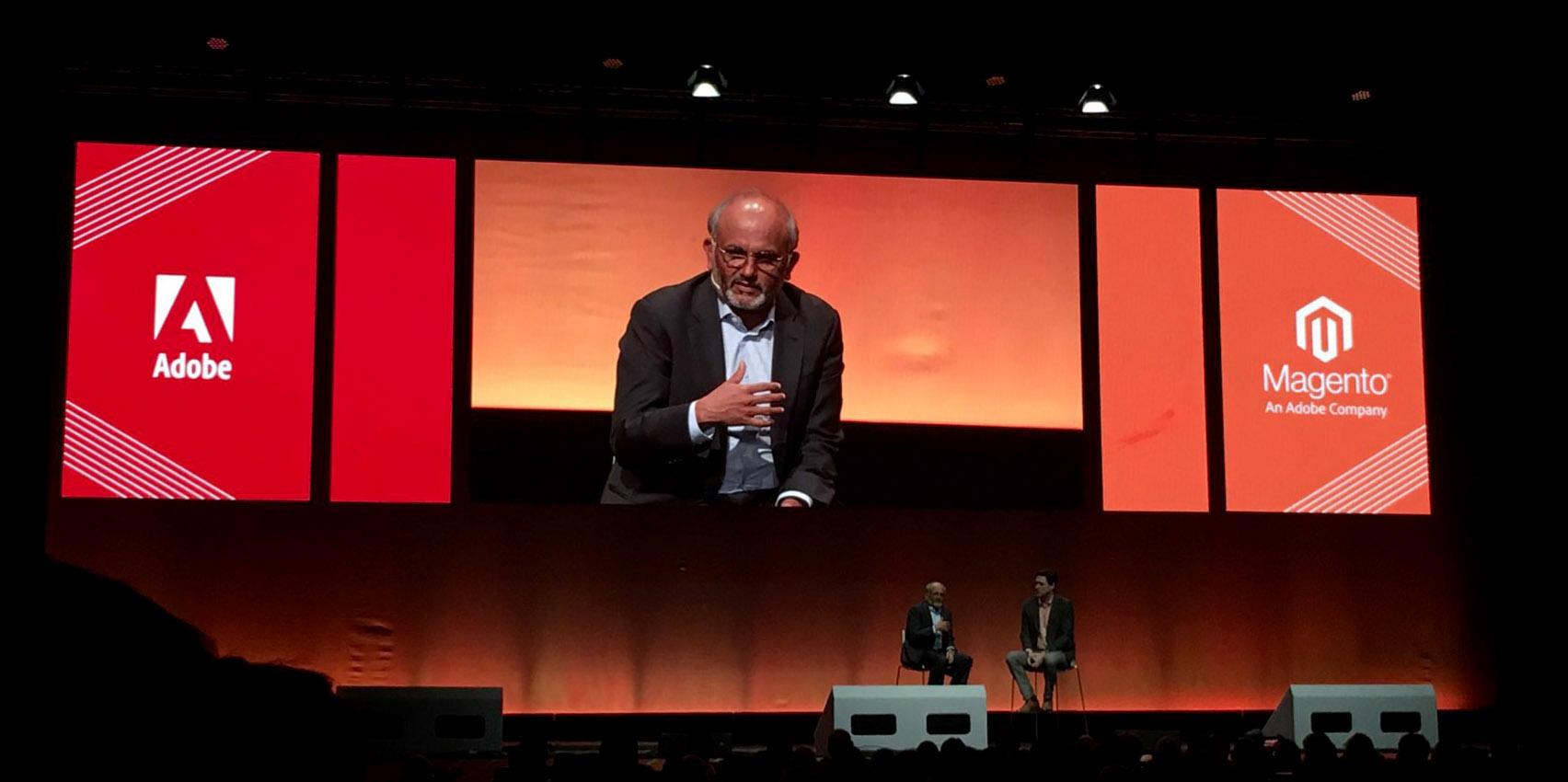 MLEU CEO d'Adobe sur rachat Magento