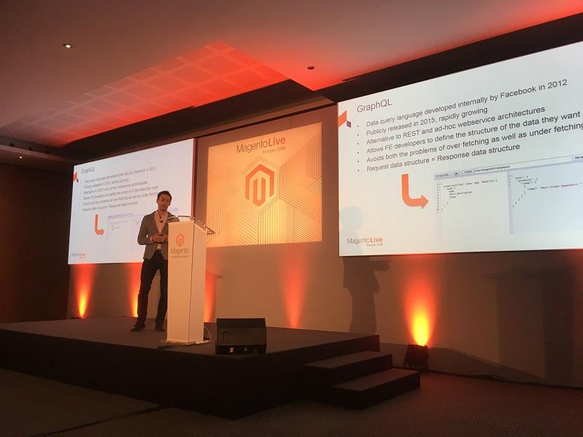 présentation GraphQL à MagentoLive Europe 2018