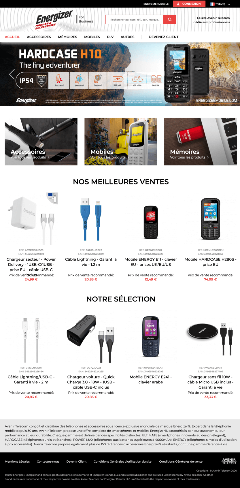 Agence-DND-Creation-Site-ECommerce-Avenir-Telecom