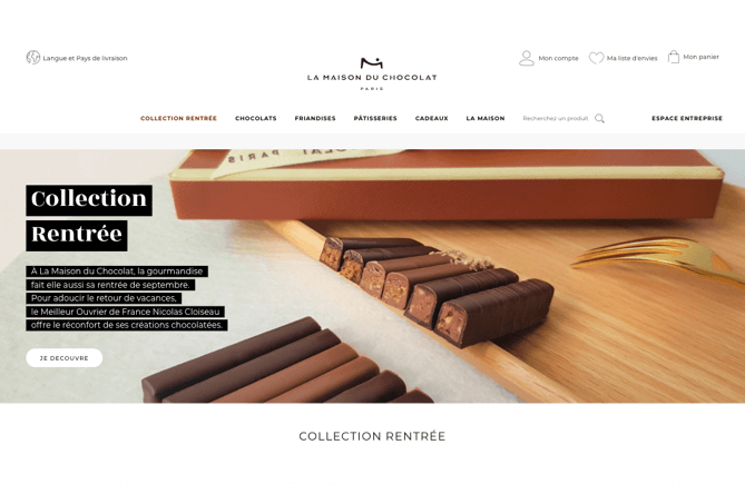 DND-ECommerce-Creation-site-La-Maison-du-Chocolat-homepage
