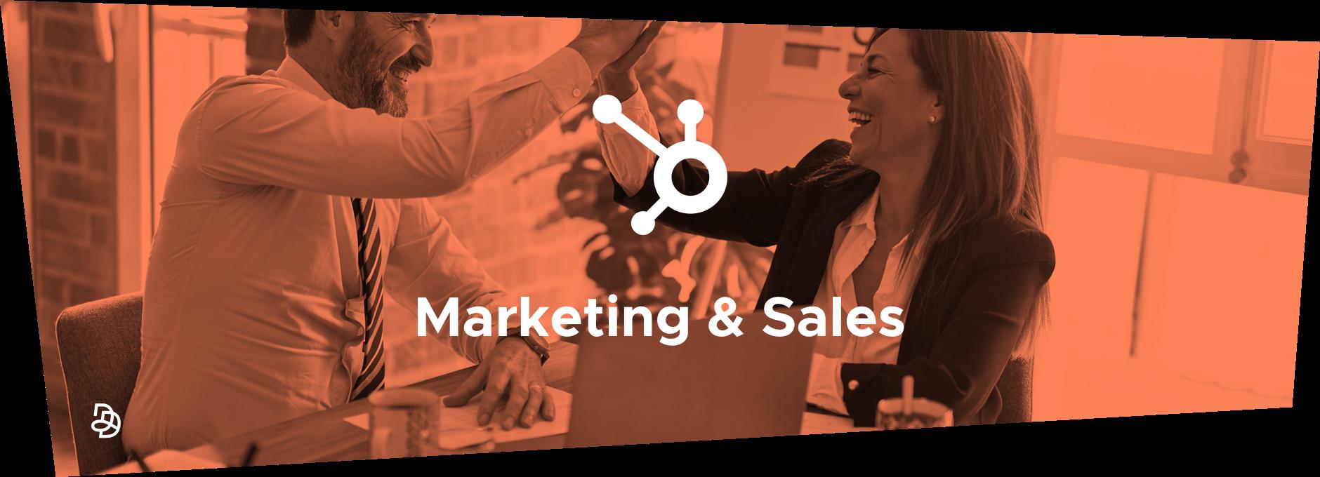 Marketing, Sales, HubSpot