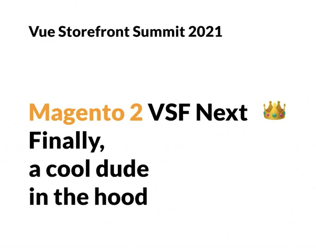 DND - Magento 2 - VSF
