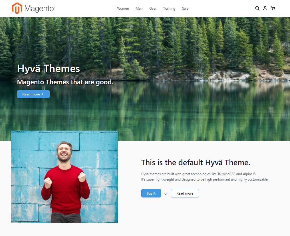 DND - Hyvä - Home Page
