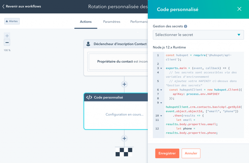 DND - Automation Programmable - HubSpot - Magento